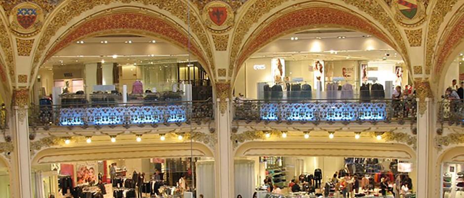 Galeries Lafayette - Hôtel Horset Opéra Paris ...